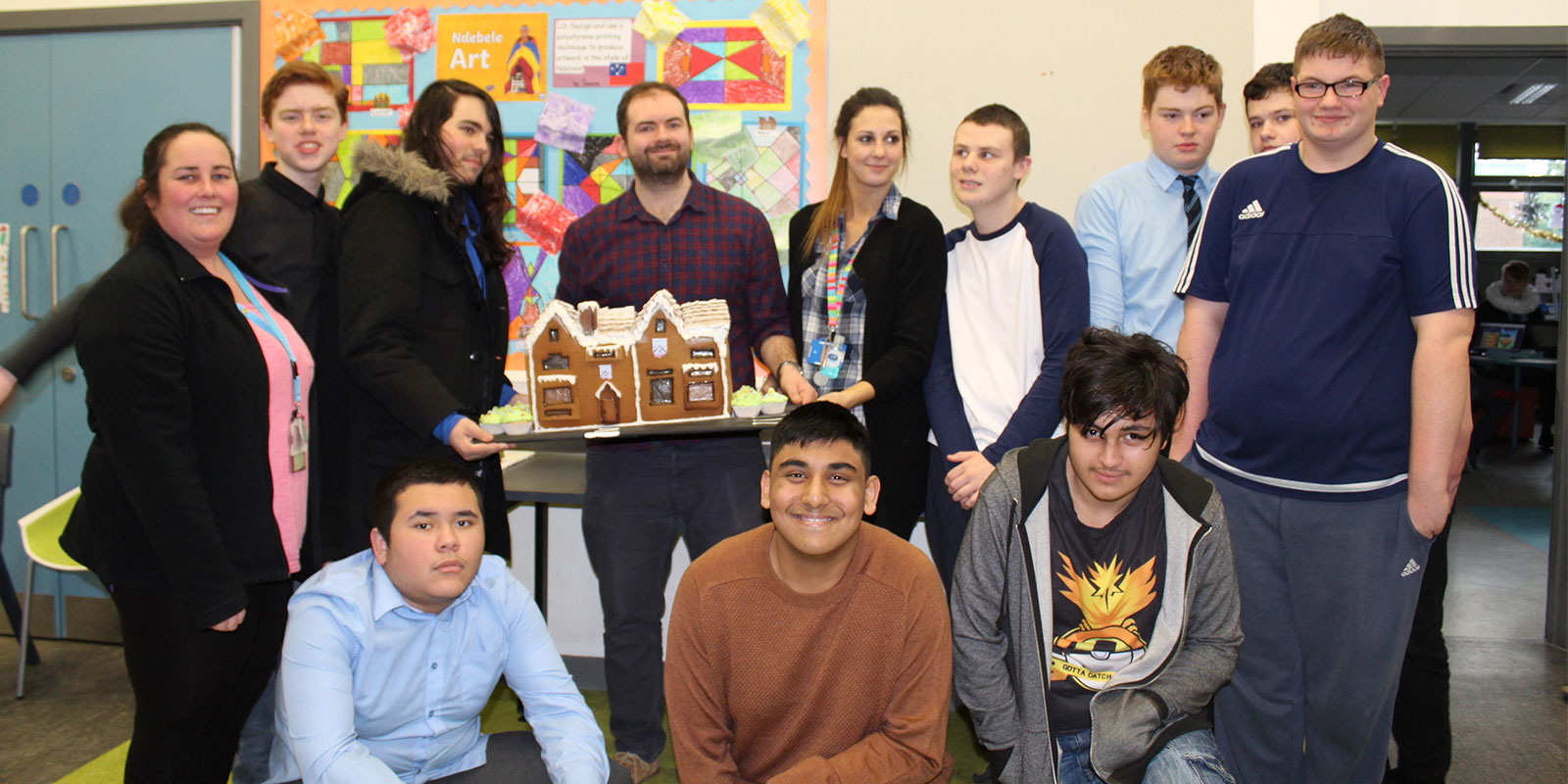 Bake off, gingerbread house