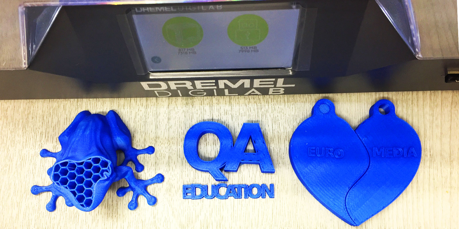 Dremel DigiLab objects built by QA Education team