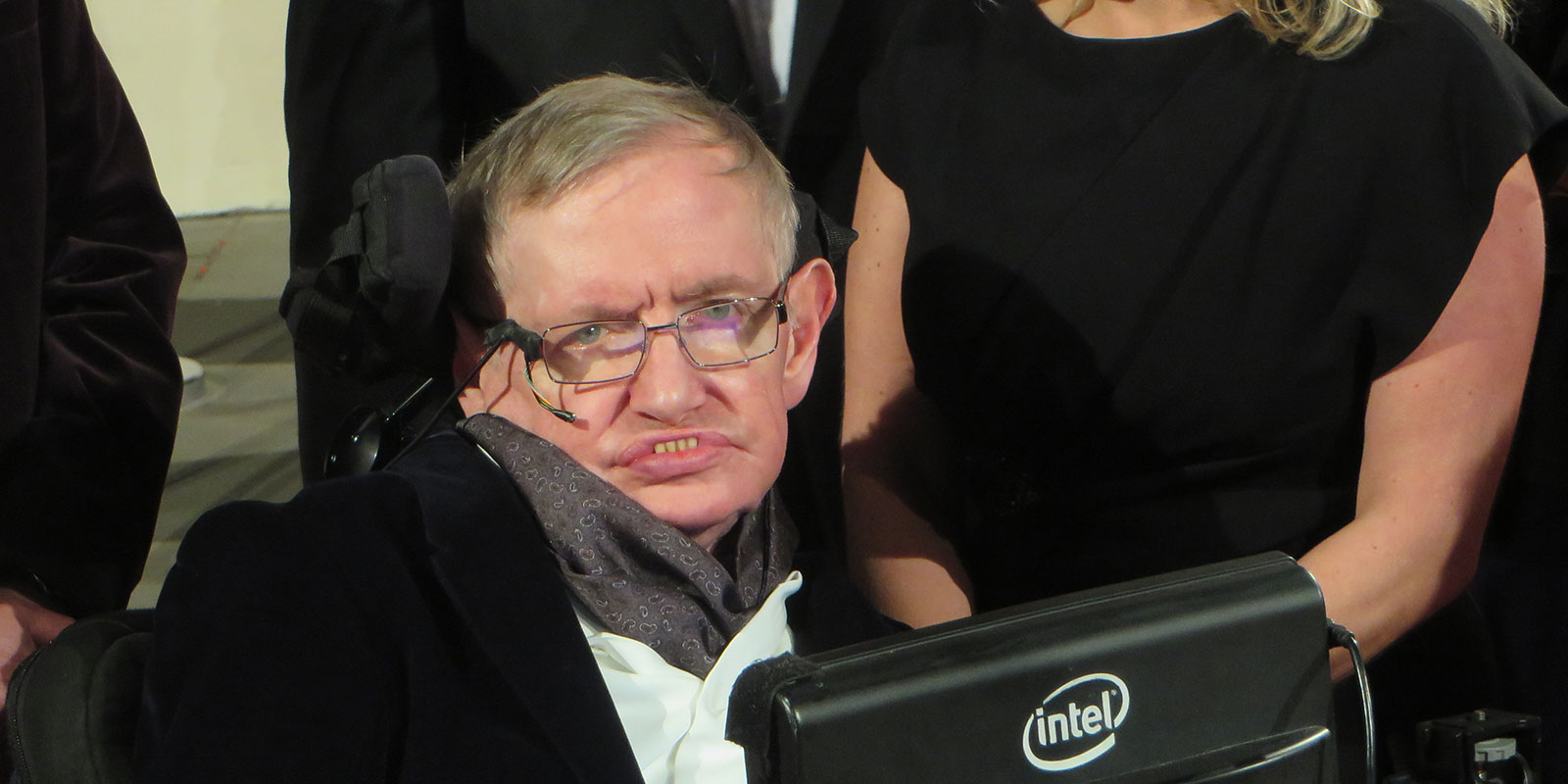 Prof Stephen Hawking in 2015