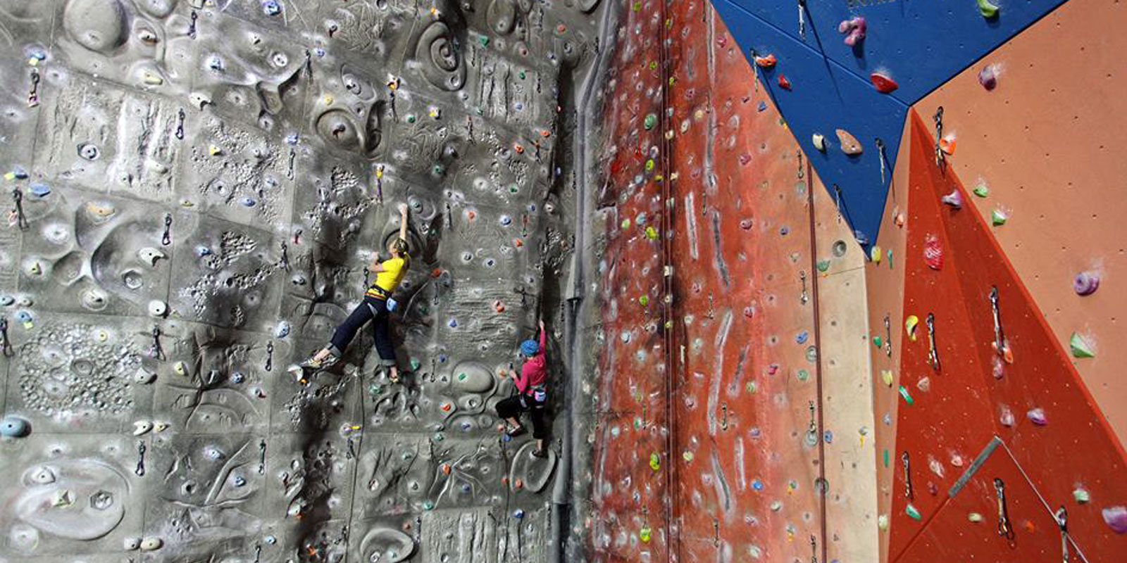 Inspiring climbing and caving adventure with The Warehouse!
