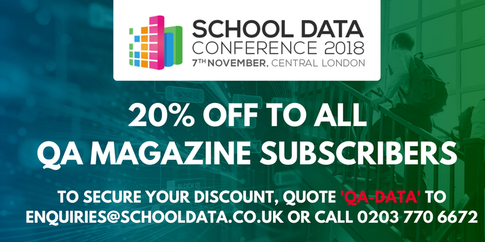 School Data Conference returns on the 7th of November to Central London!
