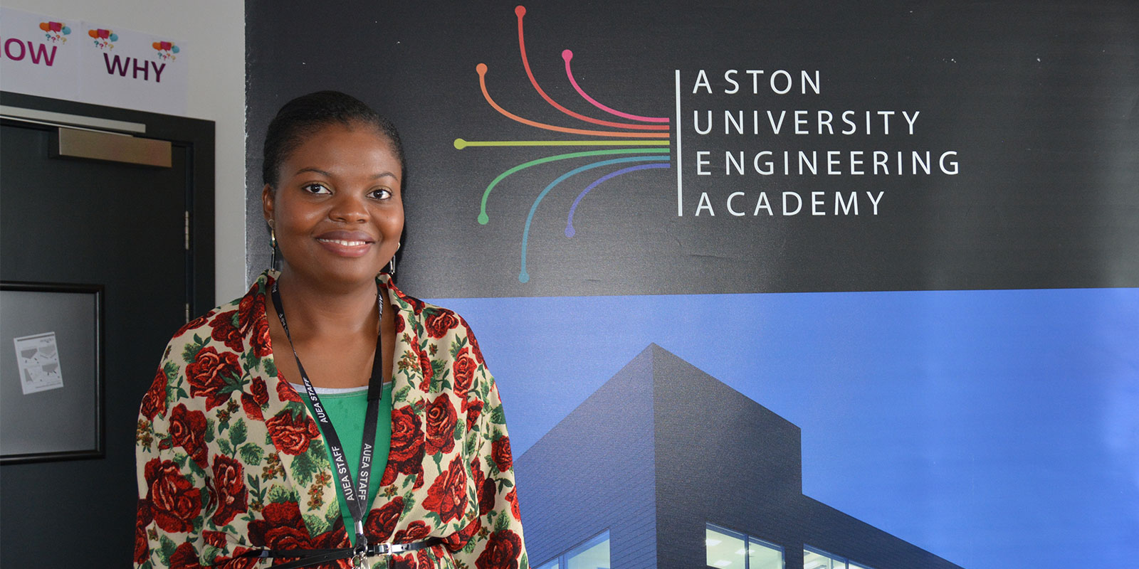 Aston University Engineering Academy - a teacher at the launch of the video cameras