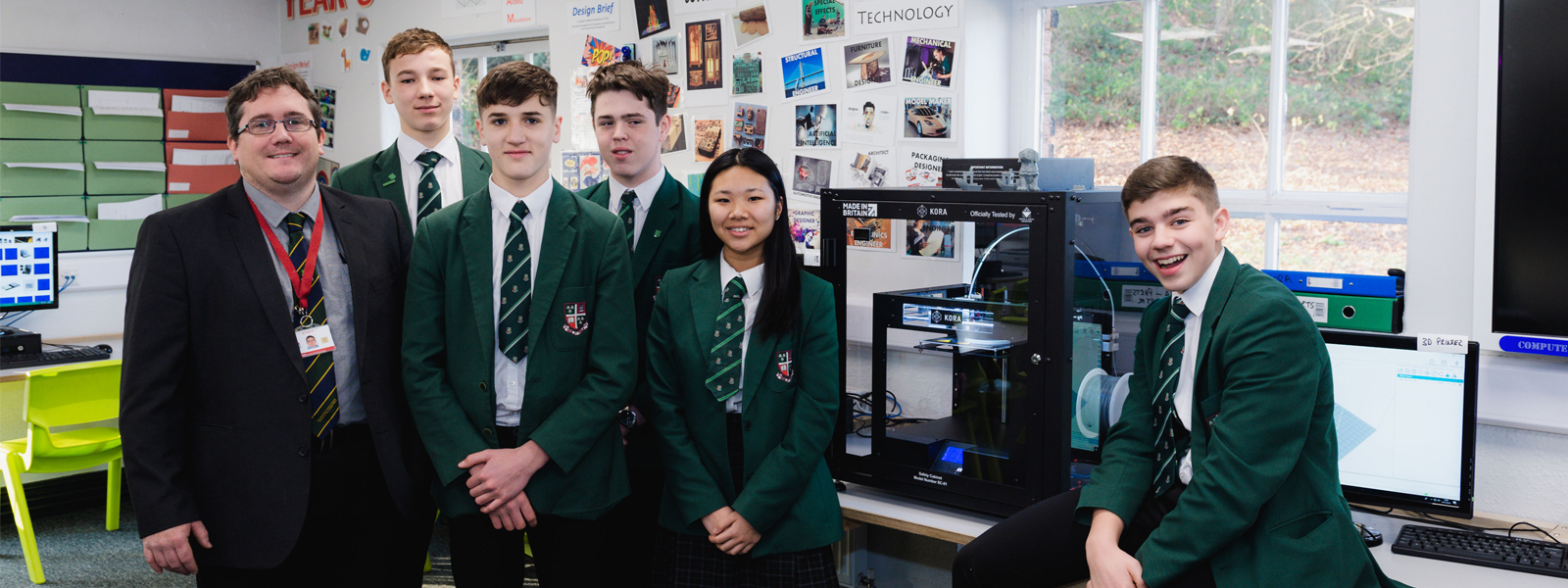 Woodhouse Grove School receives donation of 3D Printer