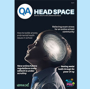 QA Head Space magazine issue 1 front cover
