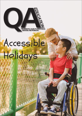 Accessible holidays Guide Front cover.jpg
