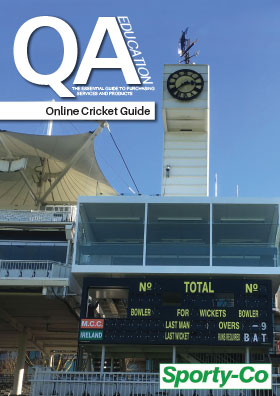 Cricket guide front cover