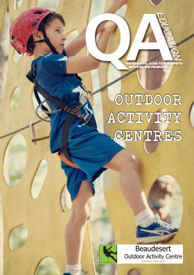 Outdoor Activity Centres guide front cover