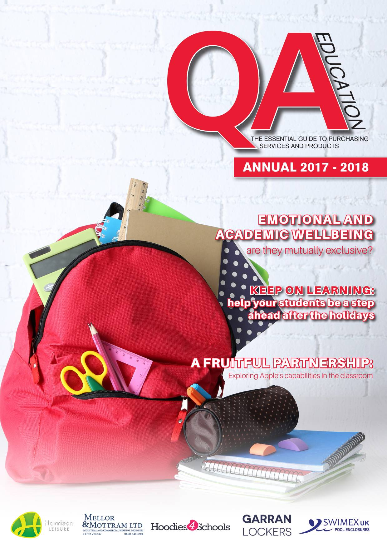 QA Yearbook 2017/8