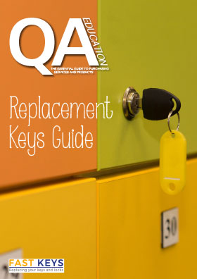 Replacement Keys Guide Front cover