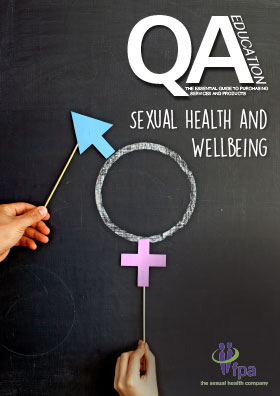 Sexual Health and Wellbeing Guide front cover