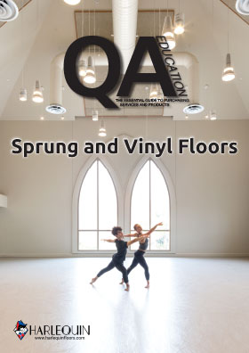 Sprung and Vinyl floors front cover