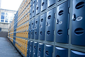 Blue Lockers from Action Storage