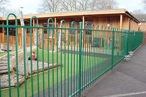 A Jackon's Fencing fence boosts school security