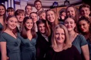 Tring Park School Students at BBC Songs Of Praise