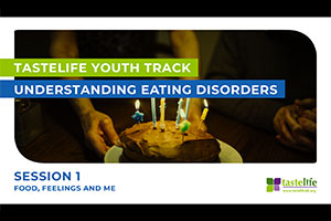 Taste Life logo - Understanding Eating Disorders