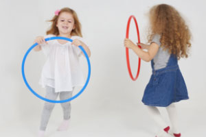 Little girl dancing and demonstrating why movement matters in child physical development