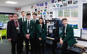 Woodhouse Grove School receives donation of 3D Printer and Safety Cabinet from Kora