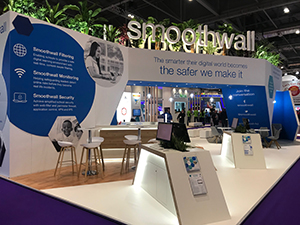 Leading online safety experts Smoothwall join forces with VESPA Mindset and Warwickshire County Council at BETT 2019