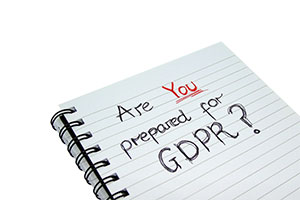 GDPR comes into force on May 25th