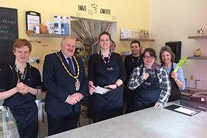 Young chefs cook up a feast for Wokingham Mayor