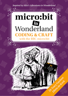TechAgeKids micro:bit in wonderland cover