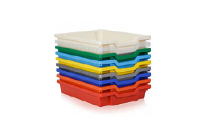 Multi-coloured storage solutions