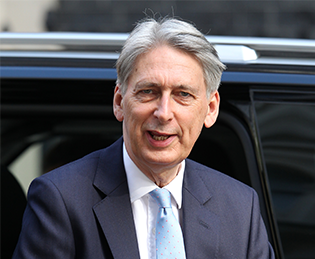 Chancellor Philip Hammond, who announced the Autumn Budget