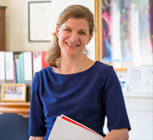 Rose Hardy, Headmistress at St Margarets