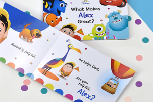 The Personalised disney and what makes them great book from In The Book