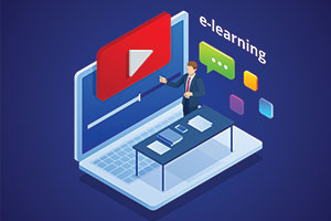 e-learning using videos