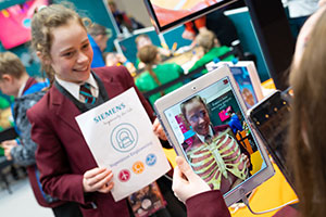 edtech - the Siemens biology app in use with pupils