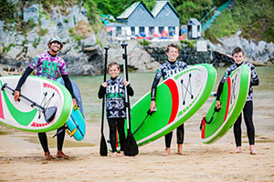 Customised Activity Weeks & Holidays on a Private Cornish Beach