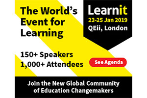 Bett Education Show and Learnit will hold expos in the same week in 2019