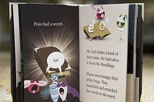 Poio phonics storybook