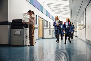 Improve document security by investing in the right education printing solutions