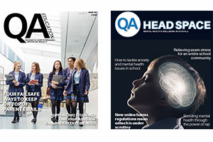 QA Education and Head Space magazine