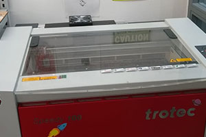 Speedy 100 laser cutter from Trotec