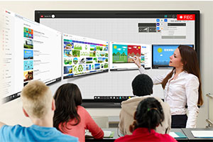 edtech like the screens shown here in class empowers teachers, says Craig Scott from ViewSonic