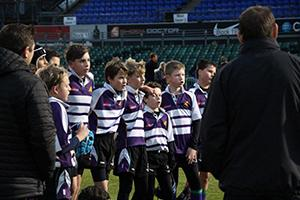 Bromley Schools playing rugby