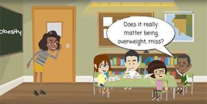 Animation from new course that will improve children's health and wellbeing