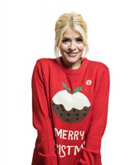Holly in her christmas jumper