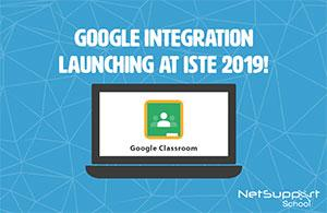 Netsupport school launches google classroom
