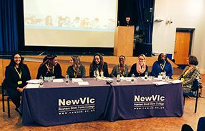NewVIc students feeling empowered by Michelle Obama