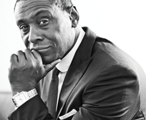 Actor David Harewood, who is working with Future First