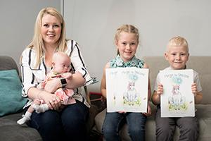 Former teacher with her self-confidence children's book