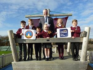 Medmerry Primary School Celebrates Good Ofsted Rating
